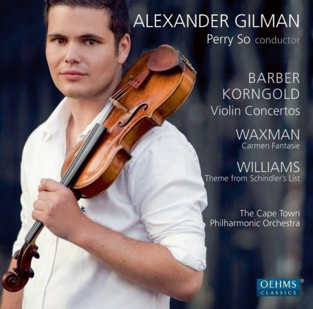 Alexander Gilman with Cape Philharmonic